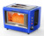 Multi-function Toaster transparent stainless steel 2 slice toaster 1000W