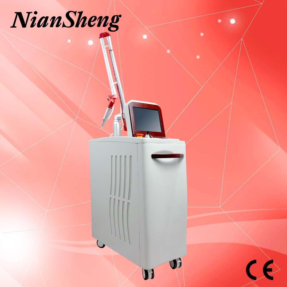 Top sale! Medical clinic, big salon use! Professional 1064nm 532nm new laser for tattoo remove