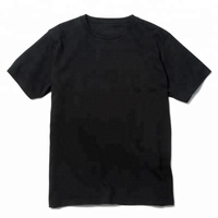 Plain Round Neck Cotton T-Shirt Specification Custom Men's Clothing