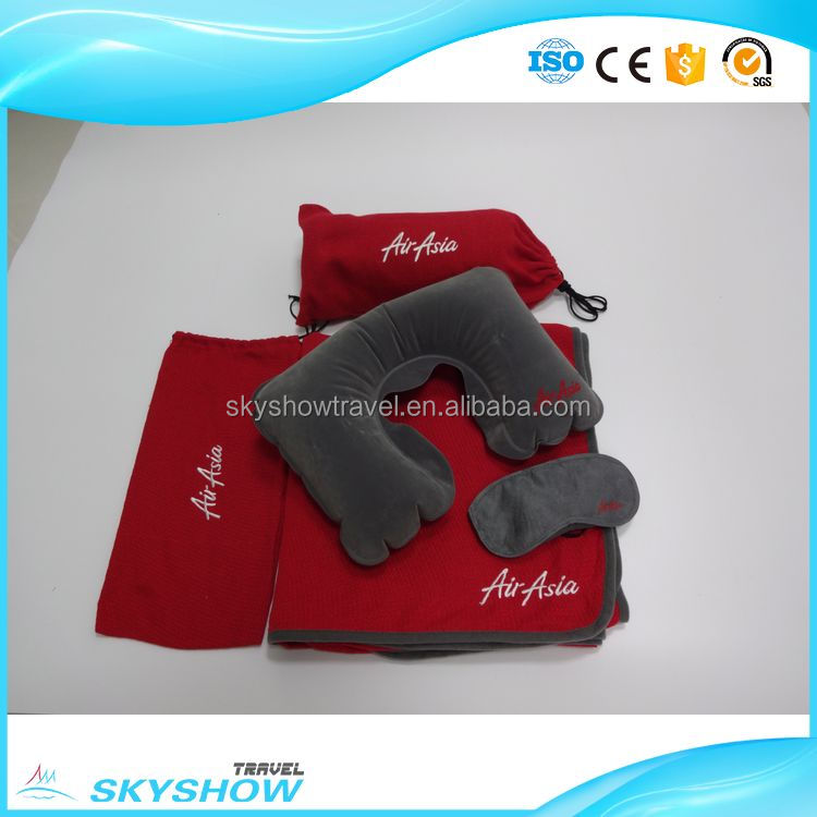 Shanghai manufacture Airline wholesale traveling bag set