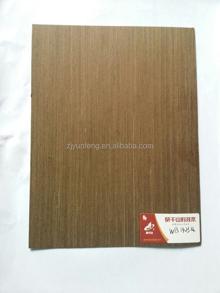 WENGE PANGA WOOD VENEER FOR DOOR DECORATION