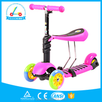 Foot Kick Standing Folding 5in1 CE Approved 2013 Hot Model Micro Mini Scooter With Seat