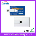 factory provide name card usb drive with both side color printing