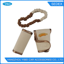 Design your logo car safety seat belt cover/ seatbelt shoulder pads