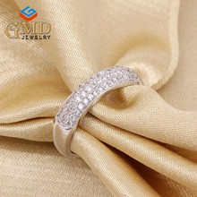 Latest products in market personalized elegant silver 925 kids diamond rings