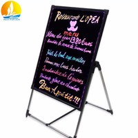 sign board led light floor price led writing board made in china led message board