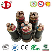 China manufacturer 0.6/1kV NYY PVC sheathed copper industrial wire VV power cable