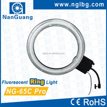 NanGuang NG-65C Pro dimmable fluorescent ring light photo ring light