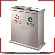 Fast delivery cost price metal industrial steel waste bin