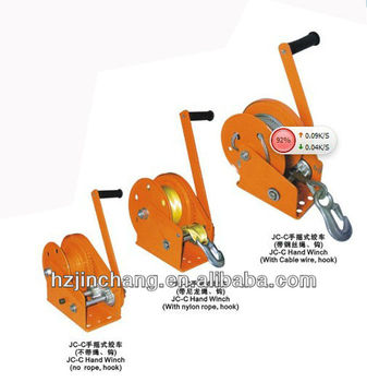 2017 New Arrival JC-C hand winch