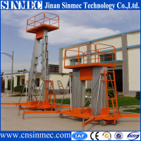 SINMEC mobile portable hydraulic lift for painting