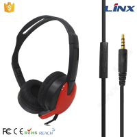 Fashion earmuff headphones with mic bulk headpones