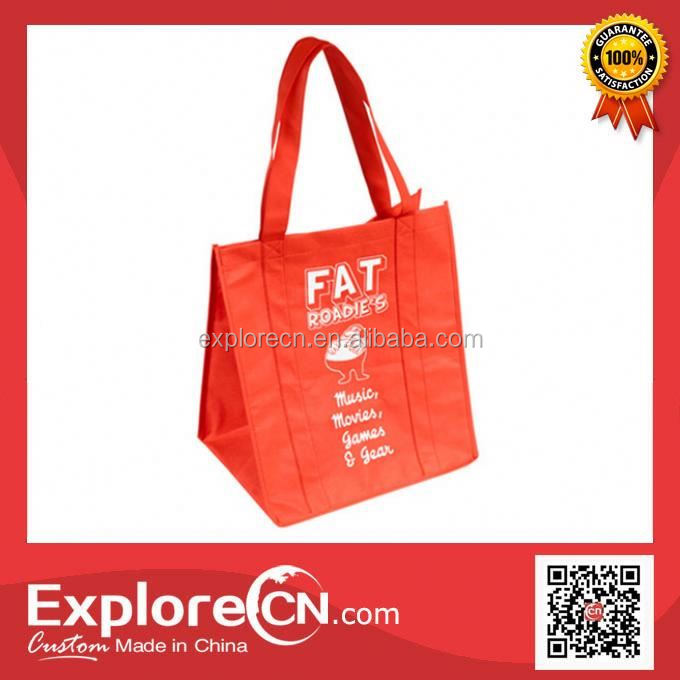 China Wholesale pictures printing non woven shopping bag
