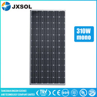 high quality 310 watt mono silicon solar panel for solar power system home