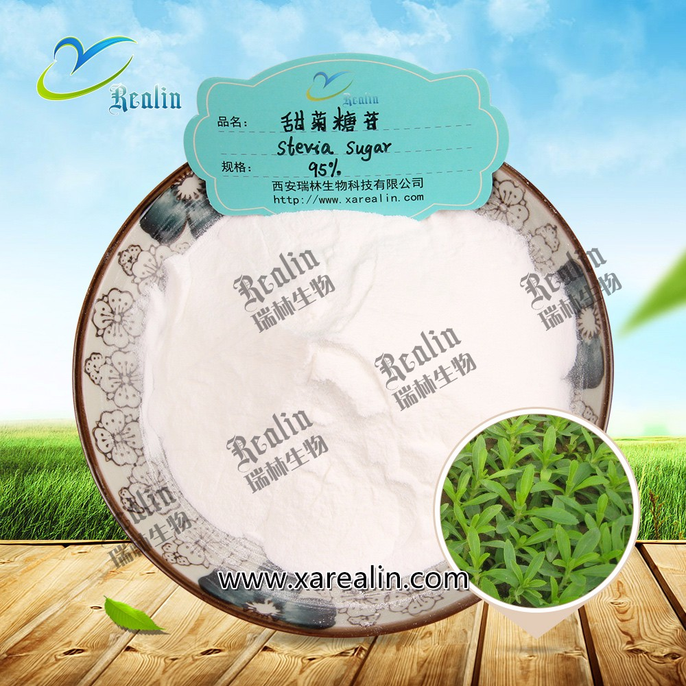 Stevia Plant Extract Sweeteners Stevioside 98% Steviol Glycosides