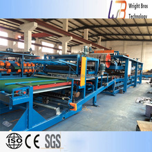 double layer sandwich panel roll forming machine/sandwich panel production line