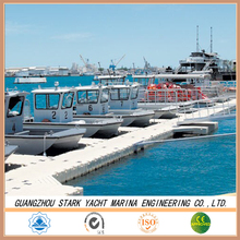High quality marina plastic used floating dock floats various colour good bouyancy for hot sale