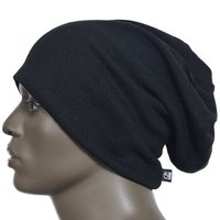100% Acylic/Cotton /Polyester Beanie Hat Jersey Slouchy Hat