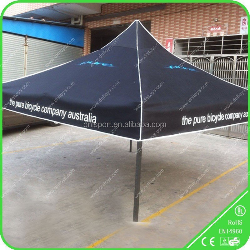 custom printed star canopy tent for rental business