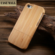 natural bamboo wooden cell phone case/ for iphone 5 back cover