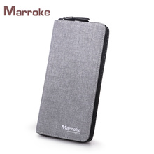 Marroke China Supplier Hot Selling Card Minimalist Purse Clutch Bag Men Wallet