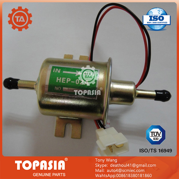 TOPASIA 12V Electronic Fuel Pump Priming Pump Diesel Pump HEP-02A For For YANMARr TOYOTA