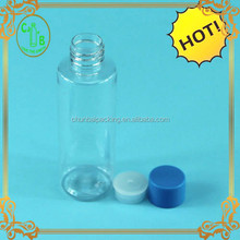 plastic color customizable good quality toilet cleaner bottle with insert and cap with screw cap