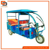 2016 battery operated tricycle electric power rickshaw for paseenger