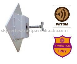 900MHz NLOS PtP Backhaul Bridge High Data Rate Transmission Long Distance