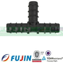 16mm equal three-way connector/plastic three way/3 way pipe connector/Equal tee Interface