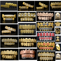 Hip Hop Teeth Grillz Free Grillz
