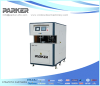 pvc window curtain Parker Machinery PVC Door-Window High-Speed Corner Cleaning Machine with CNC