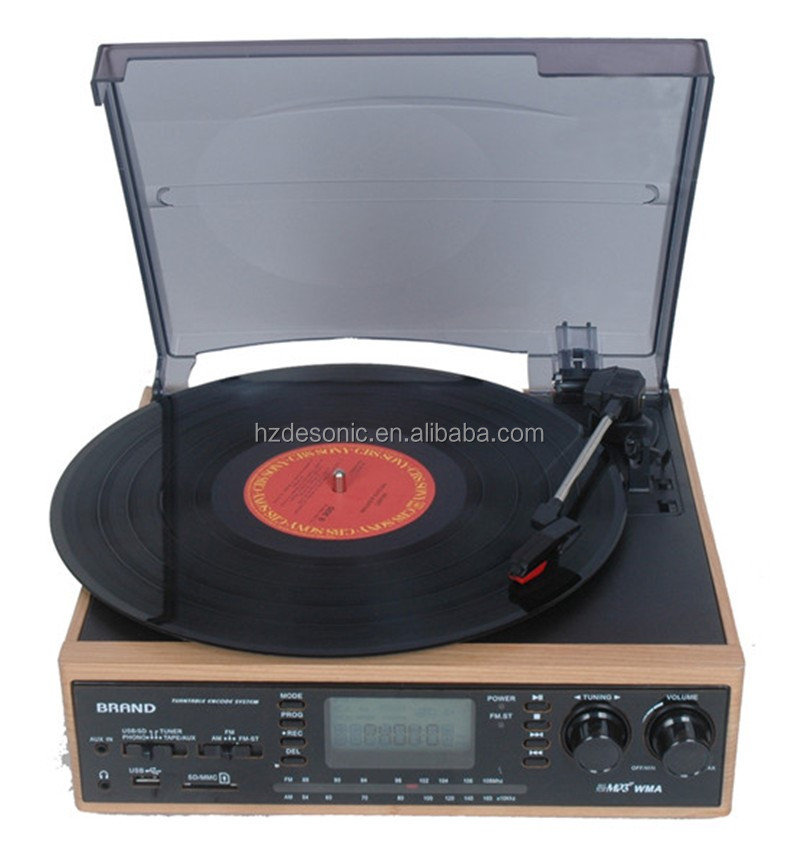 Wholesale usb encoding lp player for cassette usb dj cd player