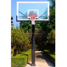 Outdoor basketball stand fixed height basketball stand