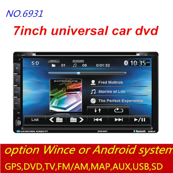 factory wholesale good quality car dvd player used FM/GPS/DVD/Bluetooth/USB/AUX/WIFI