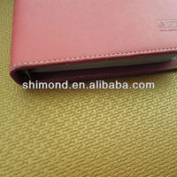 pu leather phone case/ pu leather phone sets of environmental protection of leather materials