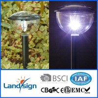 CiXi Landsign super brightness solar garden lights,solar led outdoor wall light,outside garden lights solar