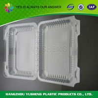 Accept custom order plastic packaging for chocolate