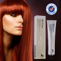Private label best natural semi permanent strawberry blonde hair dye