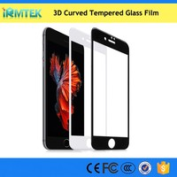 3D All Curved Premium Tempered Glass Screen Protector for iPhone 7 / 7 Plus