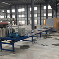 aluminium profile wood effect decoration machine