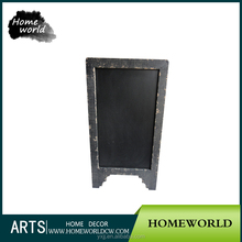 Retro coffee bar outdoor advertising hobby lobby folding wooden blackboard