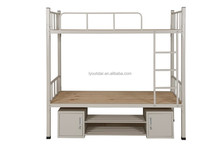Wholesale cheap price knock down modern heavy duty double metal bunk bed