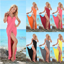 D6116 New Design Fashion Women Sexy Maxi Summer Dress Plus Size