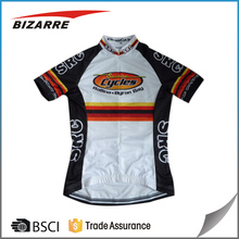 100% Polyester custom specialized cycling shirt /pro cycling jersey team