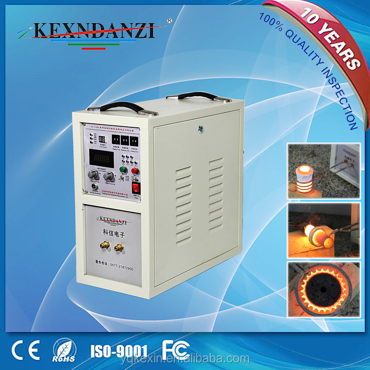 China best low price KX-5188A25 high frequency induction heating machine for <strong>cutter</strong> annealing