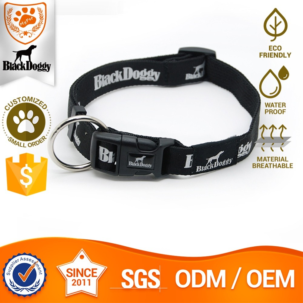 Nylon Pet Dog Collar Fluorescent Small Order Available
