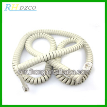 High quality copper PVC underground telephone cable,spring wire/cord