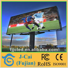 Large View Angle P8 Outdoor advertising LED Display Screen SMD3535 LED ad board