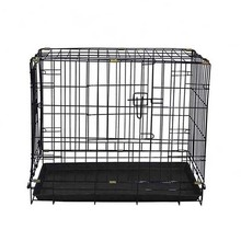 High quality double modular folding wire expanded metal dog cage